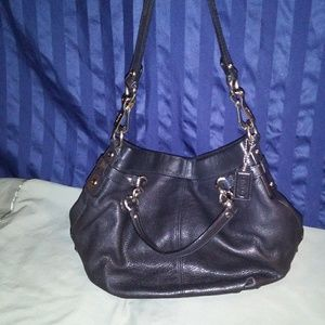 "Coach Purse. ""Brooke"". Black. Excellent Condition."